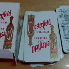 Barajas de cartas: BARAJA BRIDGE CHESTERFIELD FILTER COMPLETA . Lote 157061306