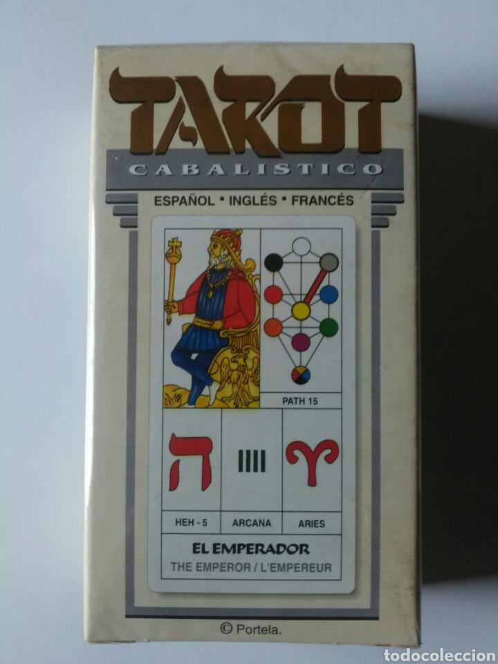 TAROT CABALISTICO(DESCATALOGADO). (Juguetes y Juegos - Cartas y Naipes - Barajas Tarot)