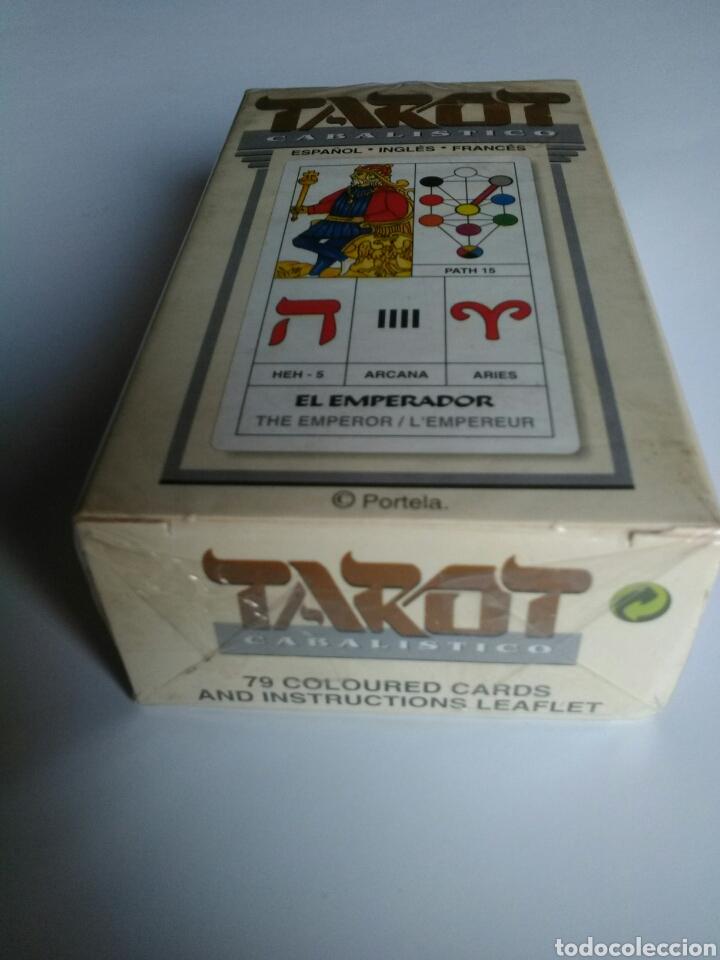 Barajas de cartas: TAROT CABALISTICO(DESCATALOGADO). - Foto 3 - 157174444