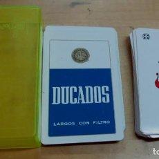 Barajas de cartas: BARAJA PÓKER PUBLICIDAD DUCADOS COMPLETA. Lote 157196534