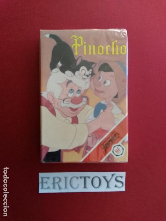 BARAJA PINOCHO - FOURNIER AÑO 1992 , PRECINTADA!!! - ERICTOYS (Juguetes y Juegos - Cartas y Naipes - Barajas Infantiles)