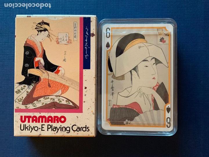 BARAJA DE CARTAS JAPONESA UTAMARO. UKIYO JUEGO DE CARTAS. PRECINTADA CON CAJA ORIGINAL (Juguetes y Juegos - Cartas y Naipes - Otras Barajas)