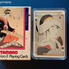 Barajas de cartas: BARAJA DE CARTAS JAPONESA UTAMARO. UKIYO JUEGO DE CARTAS. PRECINTADA CON CAJA ORIGINAL. Lote 157286294