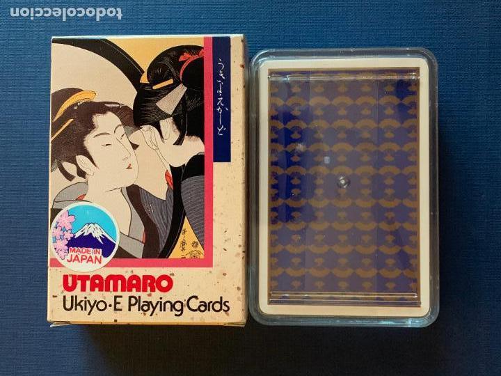 Barajas de cartas: BARAJA DE CARTAS JAPONESA UTAMARO. UKIYO JUEGO DE CARTAS. PRECINTADA CON CAJA ORIGINAL - Foto 2 - 157286294