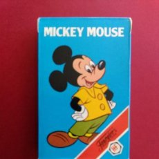 Barajas de cartas: BARAJA MICKEY MOUSE , FOURNIER AÑO 1984 - NUEVA A ESTRENAR - ERICTOYS. Lote 187105223