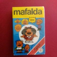 Barajas de cartas: BARAJA MAFALDA - FOURNIER AÑO 1989 , PRECINTADA!!! - ERICTOYS. Lote 216373586