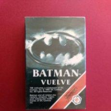 Barajas de cartas: BARAJA BATMAN VUELVE - FOURNIER AÑO 1992 , PRECINTADA!!! - ERICTOYS. Lote 246900510