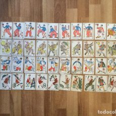 Barajas de cartas: ANTIGUA BARAJA DE CARTAS. NAIPES CINE CHARLOT CHAPLIN, HAROLD.CHOCOLATES GUILLEN Y SIRVENT.. Lote 157330566