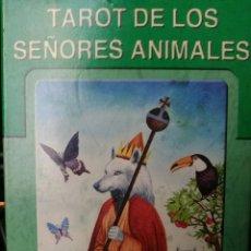 Barajas de cartas: TAROT DE LOS SEÑORES ANIMALES. Lote 157359748