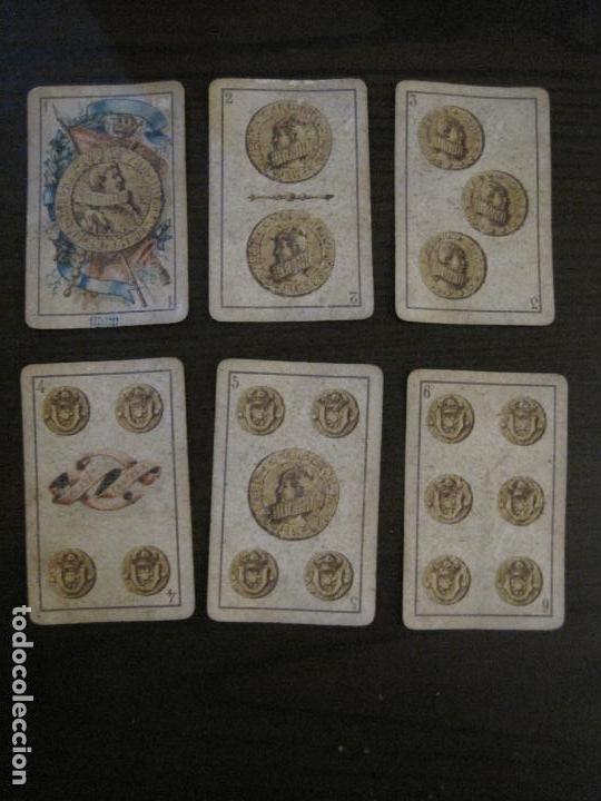 Barajas de cartas: BARAJA DE CARTAS ANTIGUA-LUIS A.LLEDO-VILLAGARCIA PONTEVEDRA-COMPLETA 40 CARTAS-VER FOTOS-(V-16.209) - Foto 4 - 157423502