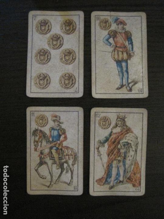 Barajas de cartas: BARAJA DE CARTAS ANTIGUA-LUIS A.LLEDO-VILLAGARCIA PONTEVEDRA-COMPLETA 40 CARTAS-VER FOTOS-(V-16.209) - Foto 6 - 157423502