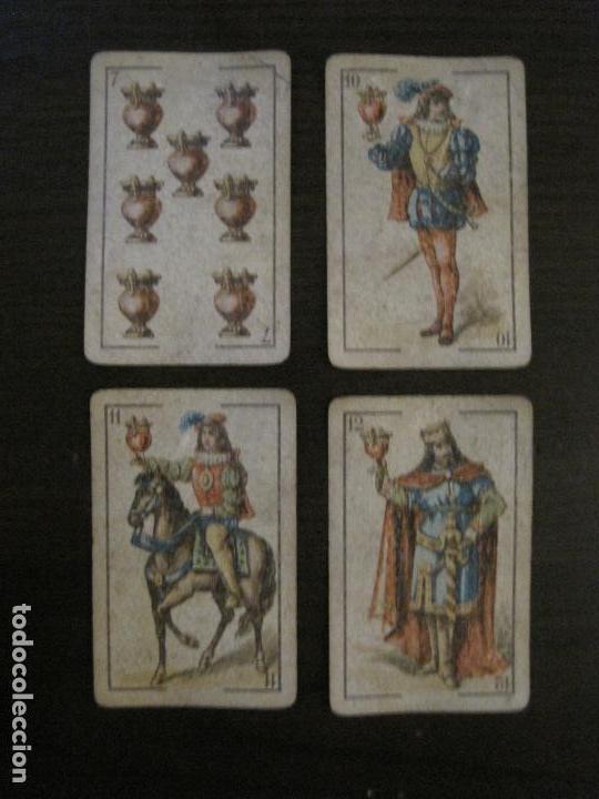 Barajas de cartas: BARAJA DE CARTAS ANTIGUA-LUIS A.LLEDO-VILLAGARCIA PONTEVEDRA-COMPLETA 40 CARTAS-VER FOTOS-(V-16.209) - Foto 13 - 157423502