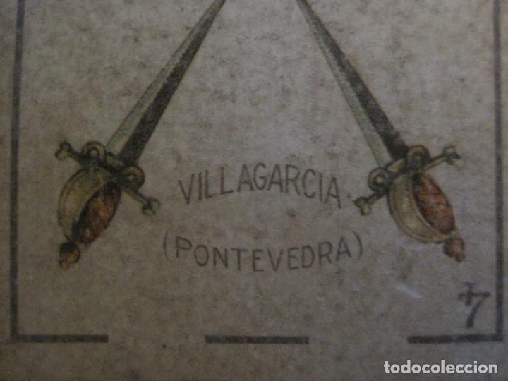 Barajas de cartas: BARAJA DE CARTAS ANTIGUA-LUIS A.LLEDO-VILLAGARCIA PONTEVEDRA-COMPLETA 40 CARTAS-VER FOTOS-(V-16.209) - Foto 17 - 157423502