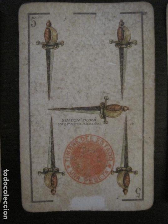 Barajas de cartas: BARAJA DE CARTAS ANTIGUA-LUIS A.LLEDO-VILLAGARCIA PONTEVEDRA-COMPLETA 40 CARTAS-VER FOTOS-(V-16.209) - Foto 18 - 157423502