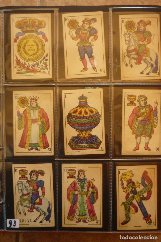 BARAJA DEL AÑO 1902. MARCA 'EL HERALDO'. FÁBRICA DE 'OLEA' CÁDIZ. COMPLETA 40 CARTAS. NUEVA (Juguetes y Juegos - Cartas y Naipes - Baraja Española)