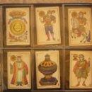 Barajas de cartas: BARAJA DEL AÑO 1902. MARCA 'EL HERALDO'. FÁBRICA DE 'OLEA' CÁDIZ. COMPLETA 40 CARTAS. NUEVA . Lote 157528894