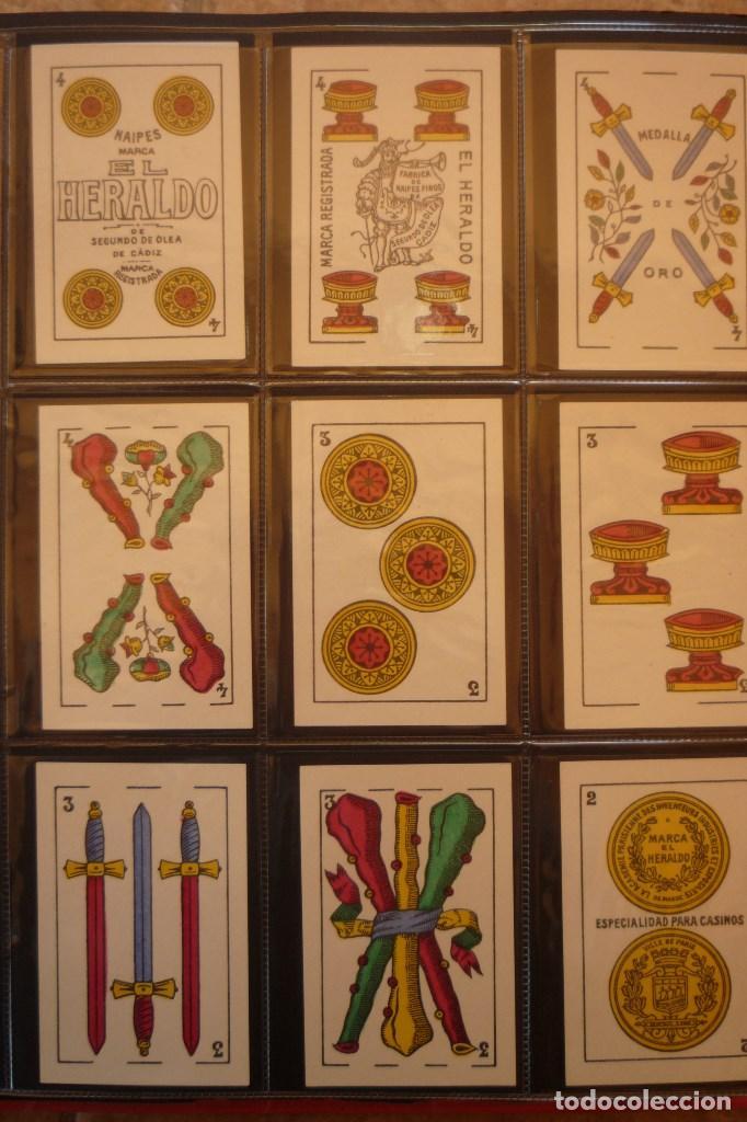 Barajas de cartas: BARAJA MARCA EL HERALDO. SEGUNDO DE OLEA CÁDIZ. COMPLETA 48 CARTAS. NUEVA. ESPECIALIDAD PARA.... - Foto 5 - 157548550