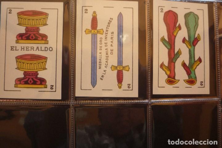 Barajas de cartas: BARAJA MARCA EL HERALDO. SEGUNDO DE OLEA CÁDIZ. COMPLETA 48 CARTAS. NUEVA. ESPECIALIDAD PARA.... - Foto 6 - 157548550