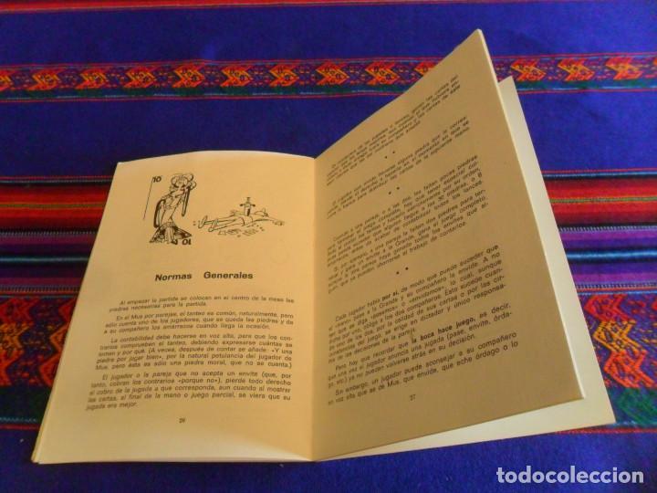 Barajas de cartas: EL MUS REGLAMENTO TÉCNICA VOCABULARIO. ANTONIO MINGOTE. EDICIONES MYR 11ª EDICIÓN 1974. BUEN ESTADO. - Foto 4 - 157662894