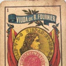 Barajas de cartas: NAIPE AÑOS 20. Lote 157702694