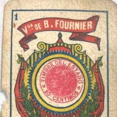 Barajas de cartas: NAIPE AÑOS 20. Lote 157702914