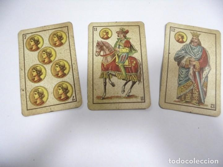 Barajas de cartas: BAAJA DE CARTAS. ESPAÑOLA. ANTONIO MOLINER. BURGOS. FALTA SOTA DE OROS. VER - Foto 5 - 157708782