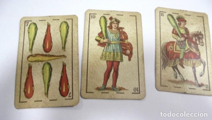 Barajas de cartas: BAAJA DE CARTAS. ESPAÑOLA. ANTONIO MOLINER. BURGOS. FALTA SOTA DE OROS. VER - Foto 8 - 157708782