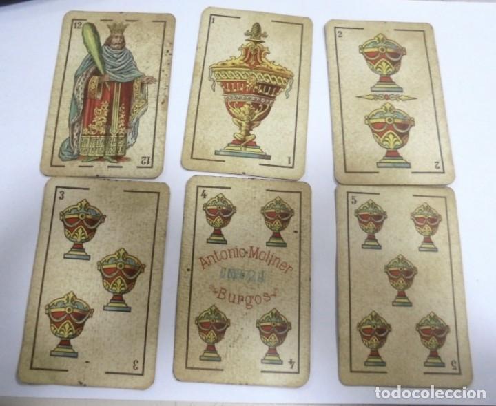 Barajas de cartas: BAAJA DE CARTAS. ESPAÑOLA. ANTONIO MOLINER. BURGOS. FALTA SOTA DE OROS. VER - Foto 9 - 157708782