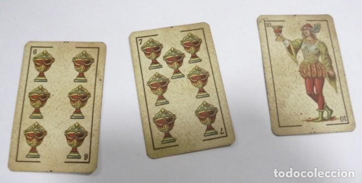 Barajas de cartas: BAAJA DE CARTAS. ESPAÑOLA. ANTONIO MOLINER. BURGOS. FALTA SOTA DE OROS. VER - Foto 10 - 157708782