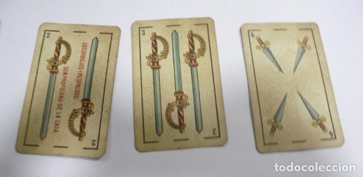 Barajas de cartas: BAAJA DE CARTAS. ESPAÑOLA. ANTONIO MOLINER. BURGOS. FALTA SOTA DE OROS. VER - Foto 12 - 157708782