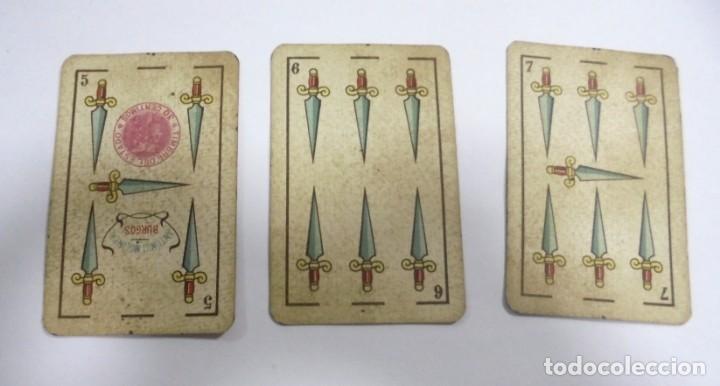 Barajas de cartas: BAAJA DE CARTAS. ESPAÑOLA. ANTONIO MOLINER. BURGOS. FALTA SOTA DE OROS. VER - Foto 13 - 157708782