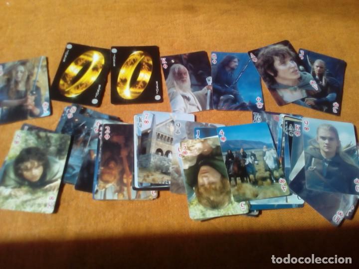 Barajas de cartas: Baraja el señor de los anillos - Foto 2 - 157726850