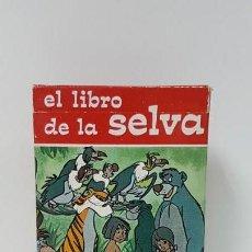Barajas de cartas: BARAJA EL LIBRO DE LA SELVA FOURNIER 1969 DE ALMACEN. Lote 162525236