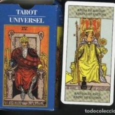 Barajas de cartas: BARAJA DE TAROT UNIVERSAL. Lote 157902222