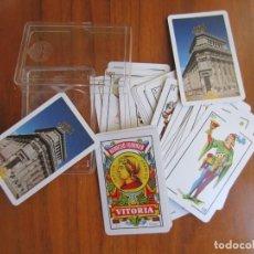 Barajas de cartas: BARAJA ESPAÑOLA FOURNIER-BANCO CENTRAL-40 CARTAS. Lote 157905762