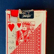 Barajas de cartas: BARAJA DE POKER HERACLIO FOURNIER 818. 55 CARTAS.. Lote 157918234