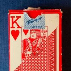 Barajas de cartas: BARAJA DE POKER HERACLIO FOURNIER Nº 818. 54 CARTAS.. Lote 157918486