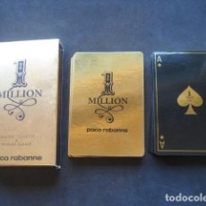 Barajas de cartas: BARAJA POKER 1 MILLION. PACO RABANNE. Lote 157977262
