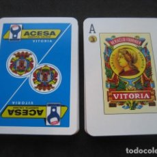 Barajas de cartas: BARAJA POKER ESPAÑOL FOURNIER. HERRAMIENTAS ACESA VITORIA. Lote 157978154