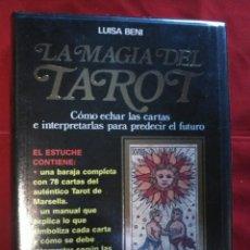 Barajas de cartas: ESTUCHE TAROT(CARTAS+LIBRO) .. Lote 158011249