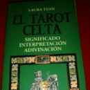 Barajas de cartas: TAROT CELTA(CARTAS+LIBRO) LAURA TUAN.. Lote 158019993