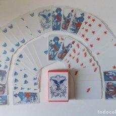 Barajas de cartas: LIBRERIA GHOTICA. BARAJA DE LA UNION E.E.U.U. SIGLO XIX.1862. FACSIMIL.. Lote 158145794