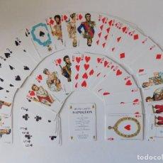 Barajas de cartas: LIBRERIA GHOTICA. BARAJA JEU DE CARTES NAPOLEON. 1980. GRIMAUD.. Lote 158146562