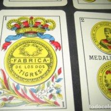 Barajas de cartas: BARAJA ESPAÑOLA HERACLIO FOURNIER. FABRICA DE LOS DOS TIGRES . Lote 158155102