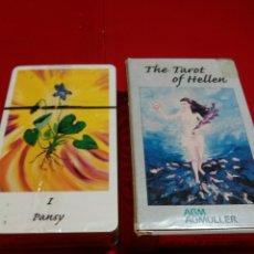 Barajas de cartas: THE TAROT OF HELLEN. AGM. Lote 158272229