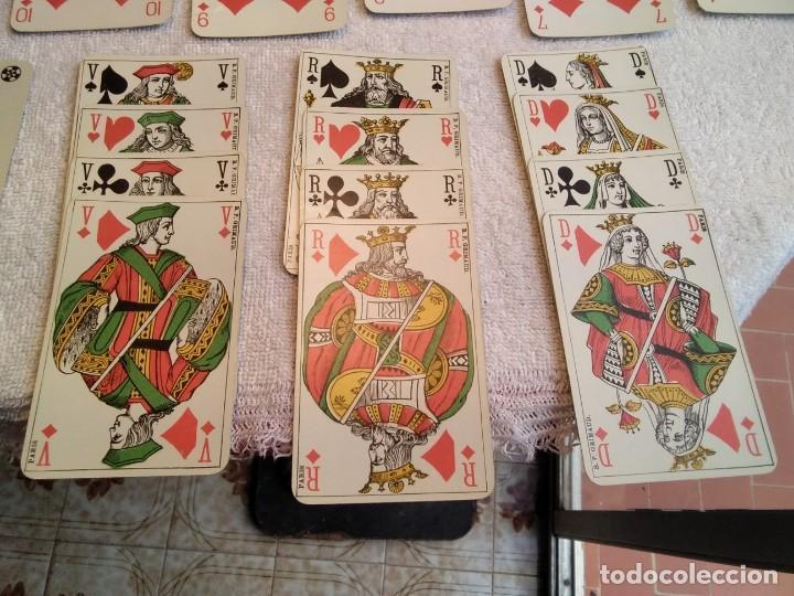 Barajas de cartas: Estuche antiguo de barajas. (A. CAMOIN a Cie MARSEILLE. FRANCIA. Y DE POKER. B.P. GRIMAUD. PARÍS.) - Foto 11 - 158376210