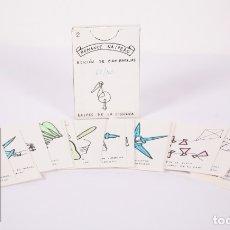 Barajas de cartas: BARAJA DE CARTAS ILUSTRADAS - ROMANCE NAIPERO 2. EDICIÓN LIMITADA 62/100 - NAIPES DE LA CIGÜEÑA. Lote 158555338