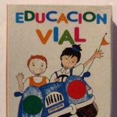 Barajas de cartas: BARAJA INFANTIL EDUCACION VIAL. Lote 158707614