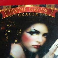 Barajas de cartas: NUEVO! DIVINE CIRCUS ORACLE PRECIOSA BARAJA DE CARTAS.. Lote 158708001