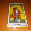 Barajas de cartas: CARTAS DE TAROT RIDER WAITE, COMPLETA Y SIN USO, CONTIENE INSTRUCCIONES. Lote 158905146